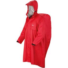 Ferrino Trekker Poncho 140cm, rood